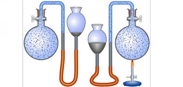قانون حجم الغاز