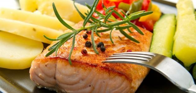 فوائد السمك للرجيم