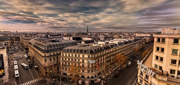 كم تبلغ مساحة باريس