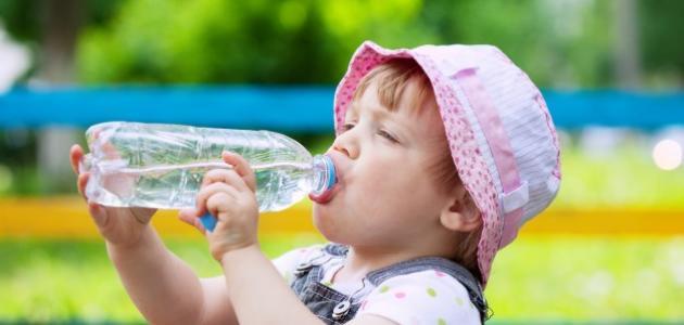فوائد الماء للأطفال