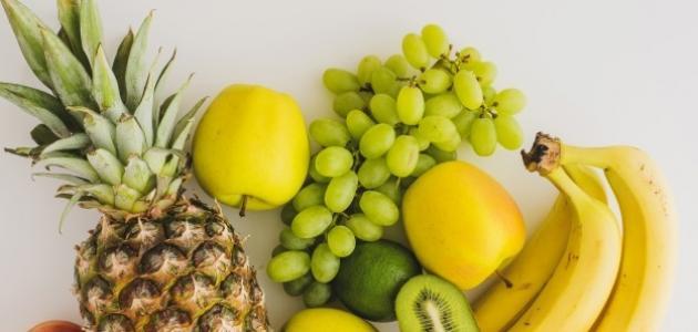 فوائد الفواكه لبشرة الوجه