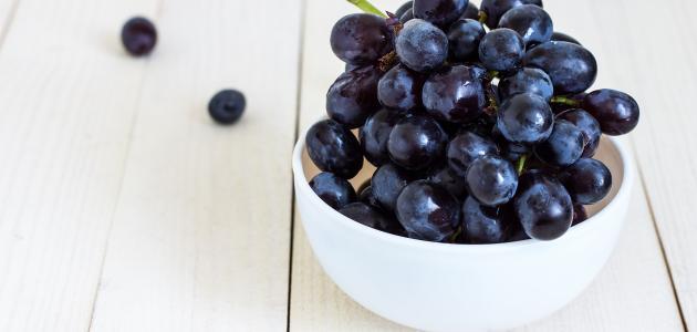 فوائد العنب للمعدة