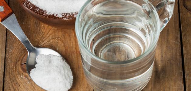فوائد الملح والماء