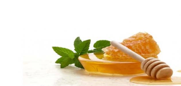 فوائد النعناع مع العسل