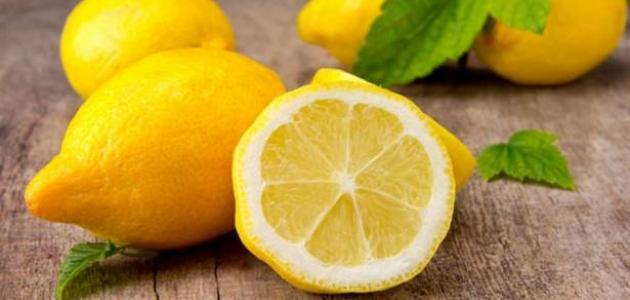 فوائد الليمون للوجه والشعر