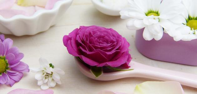 فوائد الورد الطبيعي