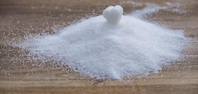 فوائد السكر للوجه