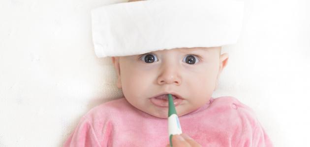 أضرار ارتفاع درجة الحرارة عند الأطفال