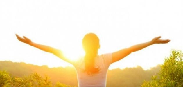 فوائد المشي في الشمس