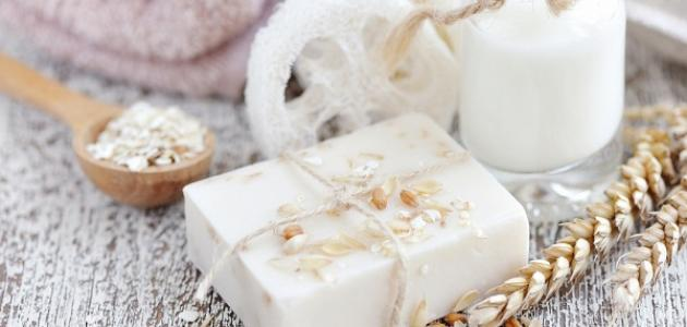 فوائد صابونة الحليب للبشرة