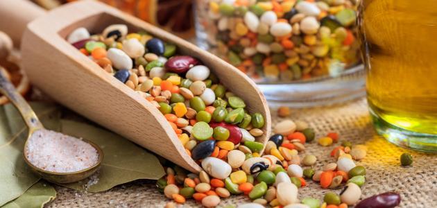 فوائد الحبوب والبقوليات