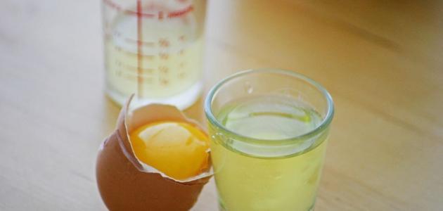 فوائد بياض البيض والعسل للوجه