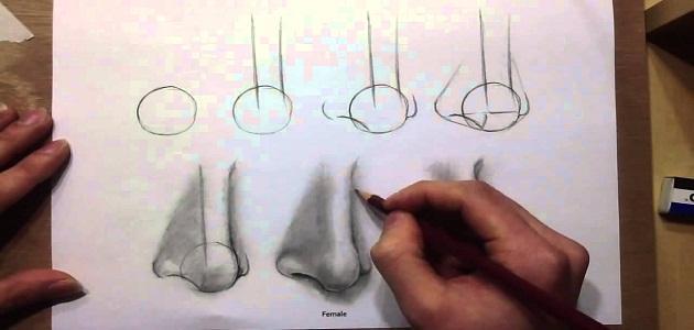 خطوات الرسم بالرصاص