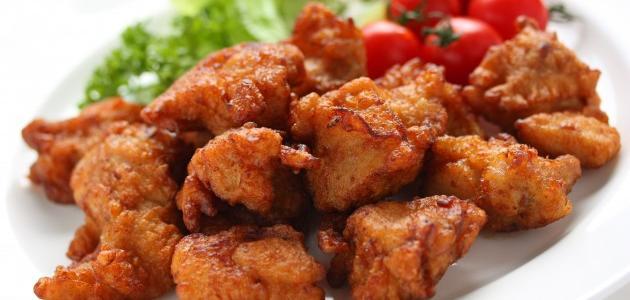 عمل قطع الدجاج