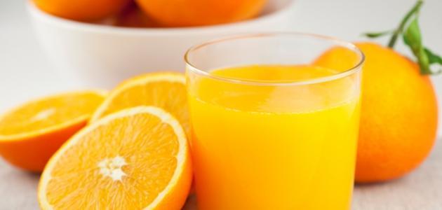 فوائد عصير البرتقال الطازج للحامل