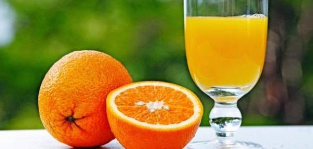 فوائد عصير البرتقال للجنين