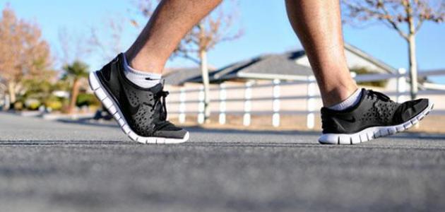 فوائد المشي للتخلص من الكرش