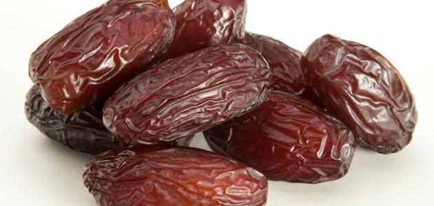 فوائد تناول 7 تمرات