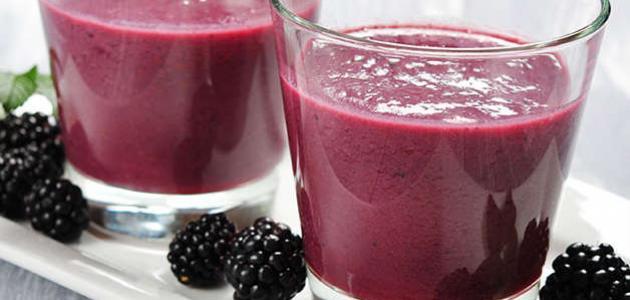 فوائد عصير التوت الأسود