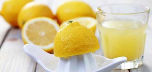 فوائد عصير الحامض للوجه