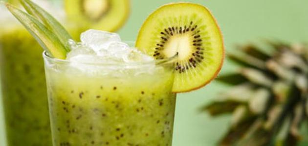 فوائد عصير الكيوي للبشرة