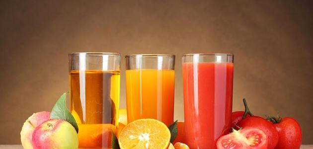 فائدة عصير الفواكة