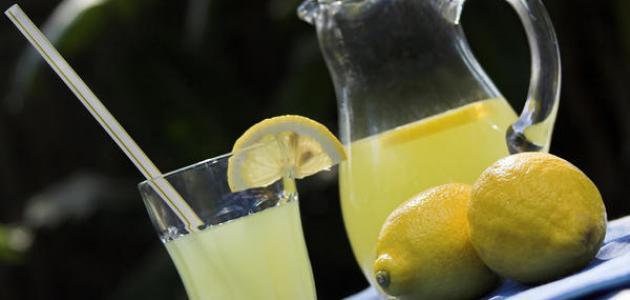 طريقة عمل عصير ليمون مثلج