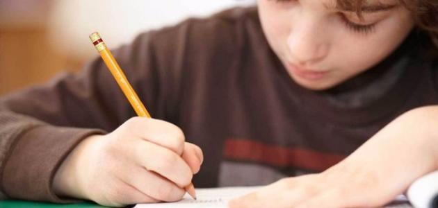 كيفية تعليم الكتابة