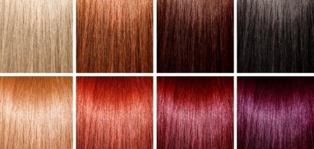 طريقة عمل صبغة شعر