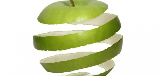 فوائد قشر التفاح الأخضر للبشرة