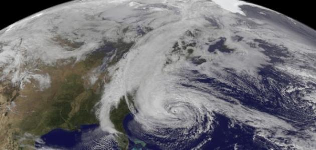 قوة إعصار ساندي