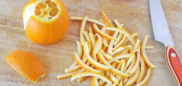 فوائد قشر البرتقال لحب الشباب