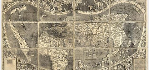 من وضع أول خريطة في العالم