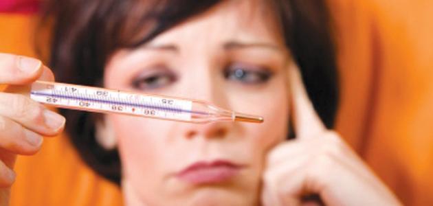 علاج ارتفاع درجة حرارة الحامل