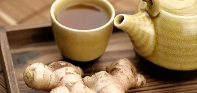 فوائد الشاي الأخضر مع الزنجبيل للرجيم