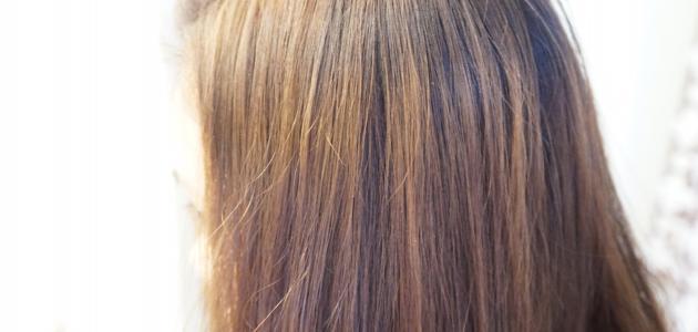 طريقة عمل صبغة لون بني فاتح