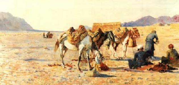 عمل الرسول في التجارة