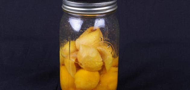 كيفية عمل مخلل الليمون