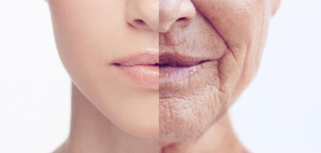 علامات تقدم السن عند المرأة