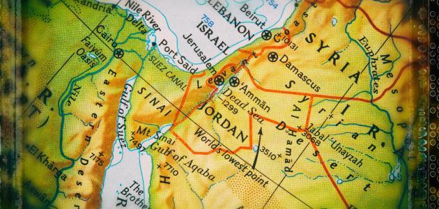 ما هي حدود الأردن