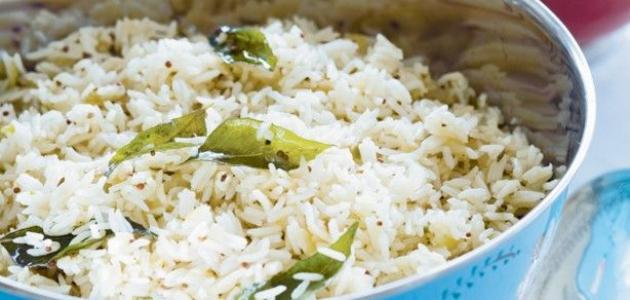 عمل الأرز المصري المفلفل