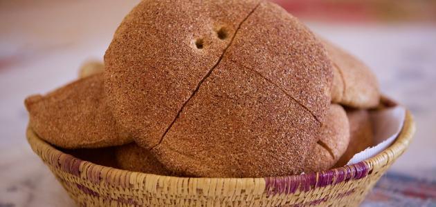 عمل خبز البر