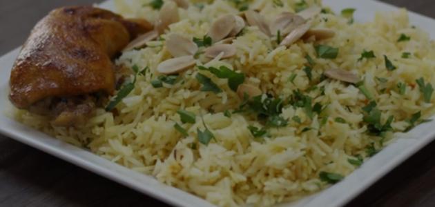 عمل الأرز البخاري باللحم