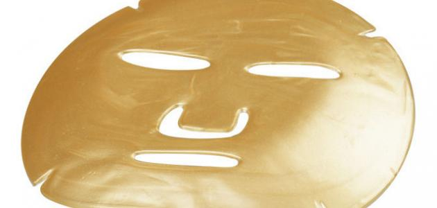 فوائد قناع الذهب بالكولاجين