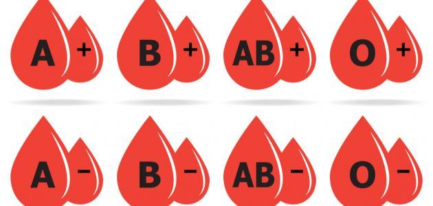 ما هي أندر فصيلة دم