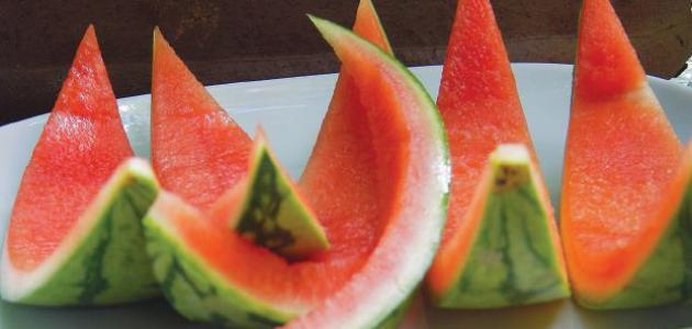 فوائد قشر البطيخ للضغط