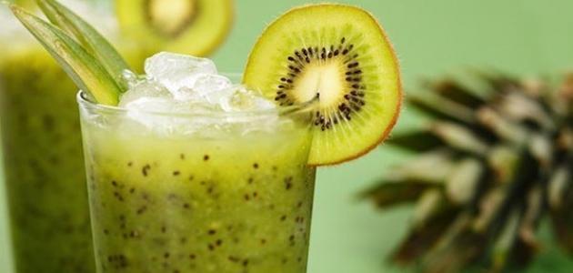 فوائد عصير الكيوي مع الليمون