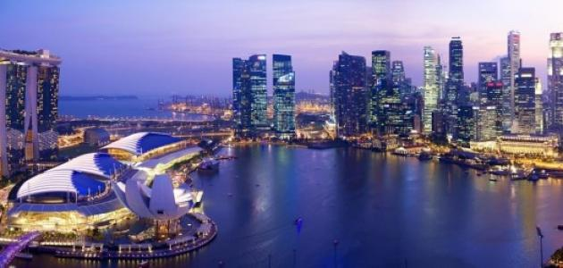 معلومات عامة عن سنغافورة