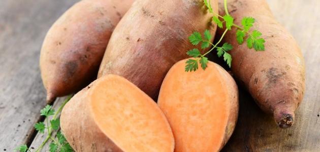 فوائد قشر البطاطا الحلوة