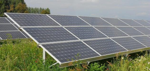 عمل الخلية الشمسية